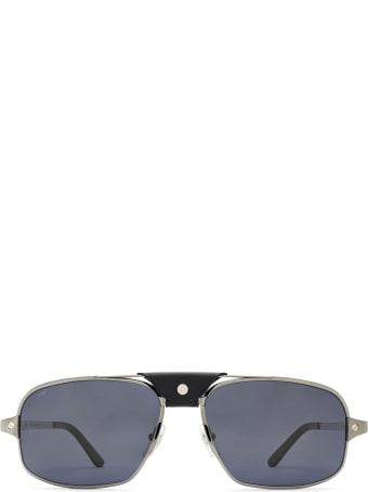 Cartier Eyewear Cartier Ct0295s Ruthenium Sunglasses