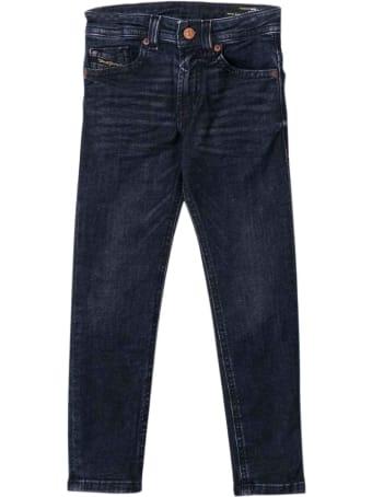 Diesel Dark Blue Teen Jeans