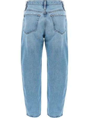 Frame Ultra Light Barrel Leg Jeans