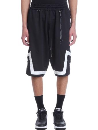 MASTERMIND WORLD Shorts In Black Polyester