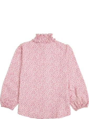 Il Gufo Organic Cotton Floral Shirt