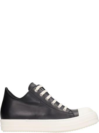 Rick Owens Sneaks Sneakers In Black Leather
