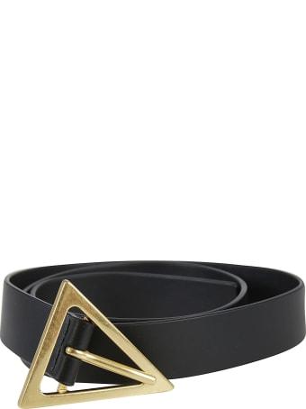 Bottega Veneta Triangle Buckled Belt