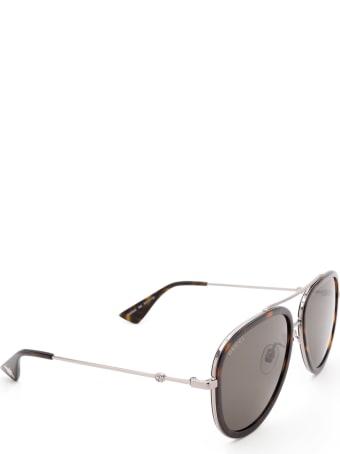 Gucci Gucci Gg0062s Havana Sunglasses