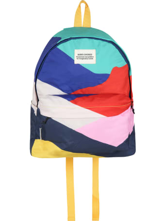 Bobo Choses Multicolor Backpack For Kids With Logo