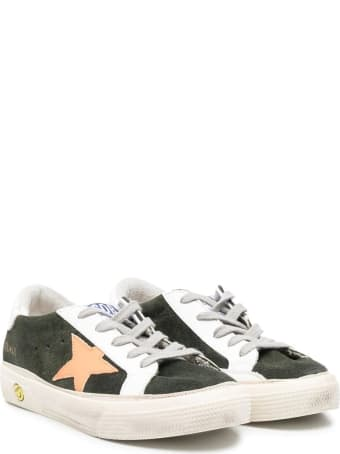 Golden Goose Superstar Sneakers With Color-block Design