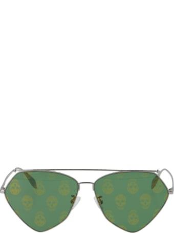 Alexander McQueen 'top Piercing' Sunglasses