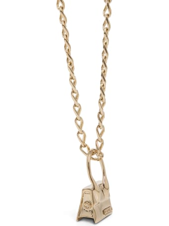 Jacquemus Le Collier Chiquito Brass Necklace