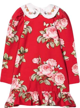 Monnalisa Red Dress