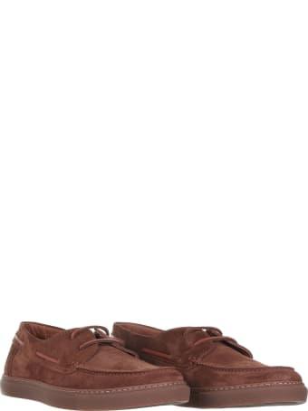 Barrett Loafers In Tan Suede