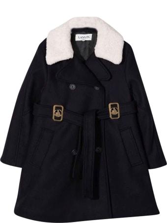 Lanvin Girl Blue Coat