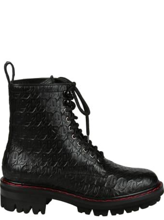 Dsquared2 Monogram Combat Sneakers