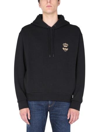 Dolce & Gabbana Cotton Embroidered Sweatshirt