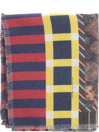 Pierre-Louis Mascia Cakesc1 Scarf W/fringes