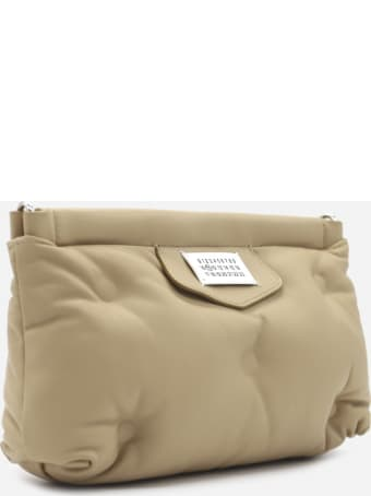 Maison Margiela Small Glam Slam Shoulder Bag In Quilted Leather