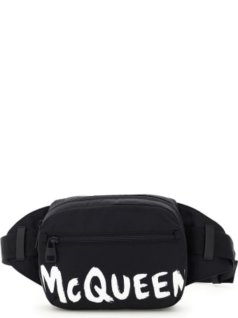 Alexander McQueen Urban Graffiti Logo Beltpack