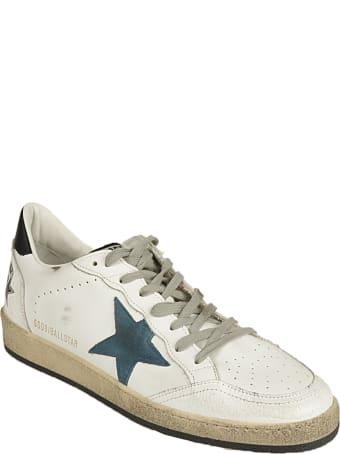 Golden Goose Ballstar Crack Toe Leather Quarter Suede Star