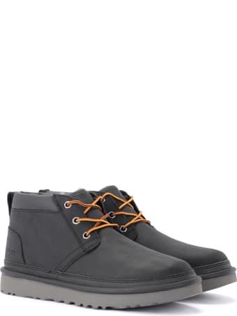 UGG Neumel Boot In Black Full Grain Leather