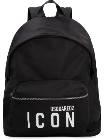 Dsquared2 Logo Detail Nylon Backpack