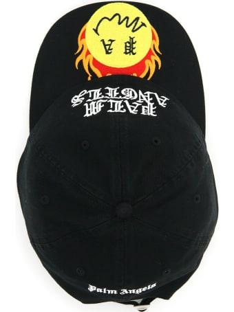 Palm Angels Burning Head Smiley Baseball Hat