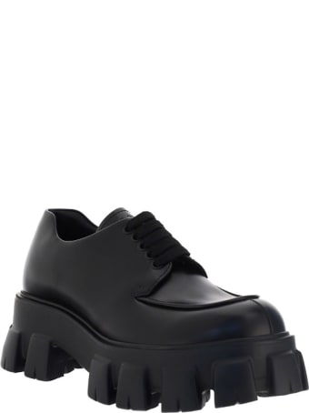 Prada Lace Up Sneakers