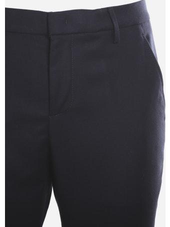 Dondup Slim-fit Trousers In Virgin Wool