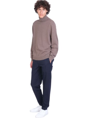 Theory Knitwear In Taupe Cashmere