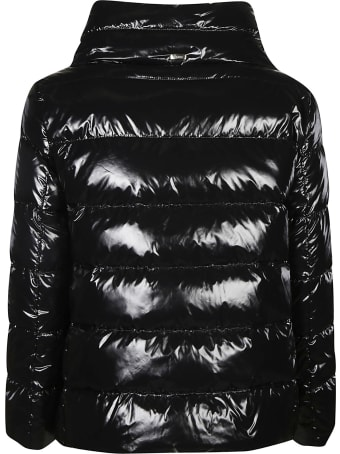 Herno Wide Neck Plain Padded Jacket