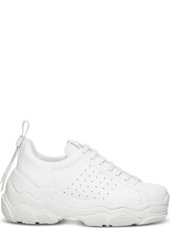 RED Valentino Low Top Sneakers In White Leather And Bow