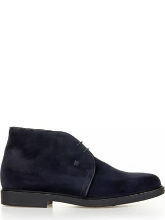 Fratelli Rossetti One Ankle Boot In Suede