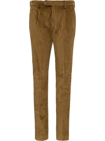 Berwich Camel Colored Velvet Pants