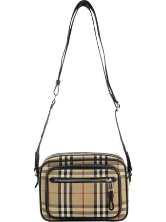 Burberry Paddy - Vintage Check And Leather Crossbody Bag