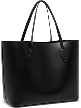 Givenchy Wing Black Smooth Leather Shopper