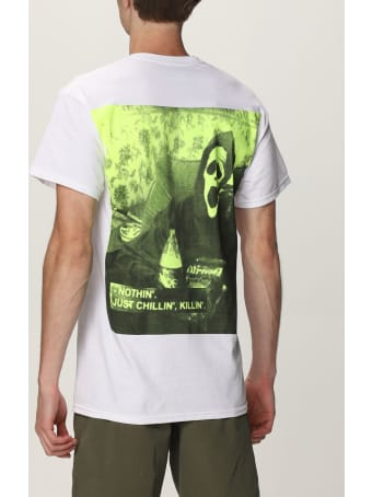Backsideclub T-shirt Chillin Backsideclub T-shirt In Cotton With Back Print