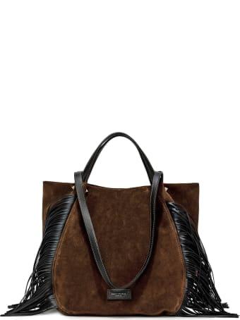 Gianni Chiarini Chocolate Shopping Bag