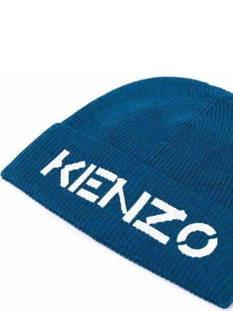 Kenzo Printed Kenzo Beanie