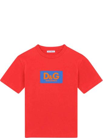 Dolce & Gabbana Red T-shirt