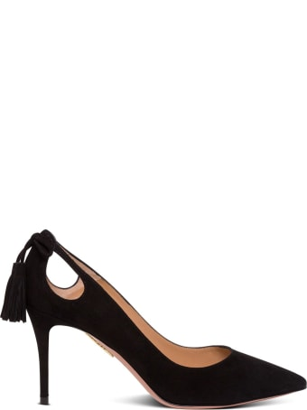 Aquazzura Forever Marylin Suede Pumps