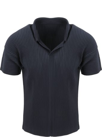 Issey Miyake Pleated Polo