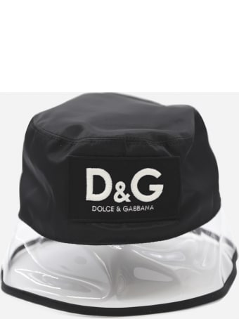Dolce & Gabbana Hat With Pvc Inserts And Logo Patch