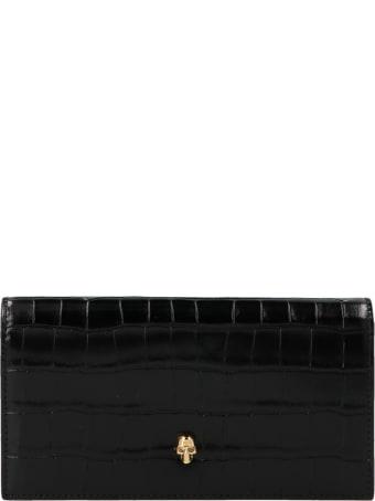 Alexander McQueen 'continental' Wallet