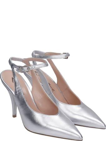 Alchimia Pumps In Silver Leather