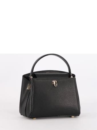 Valextra Brera Mini Black Bag