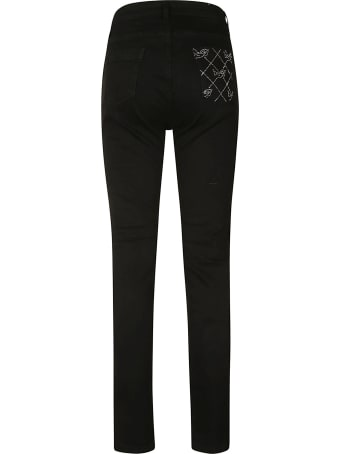 Be Blumarine Long Length Fitted Jeans
