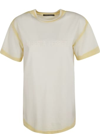 Alberta Ferretti Embroidered Logo T-shirt