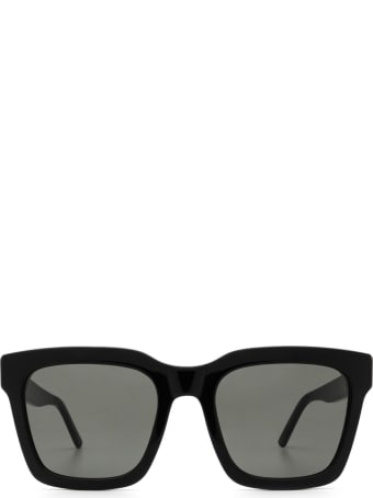 RETROSUPERFUTURE Retrosuperfuture Aalto Black Sunglasses