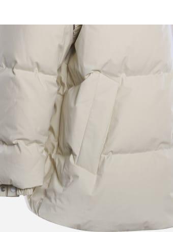 Bottega Veneta Oversized Down Jacket In Cotton Poplin