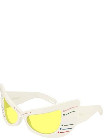 Gucci Gucci Gg0710s Ivory Sunglasses