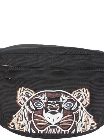 Kenzo Belt Bag With Tiger Logo