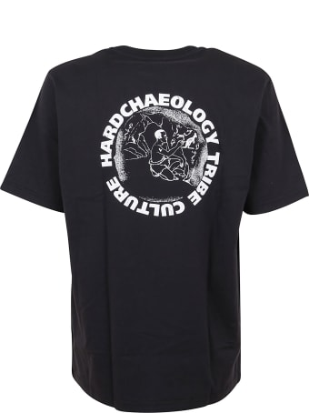 Australian Jersey T-shirt With Primitive Print Behind